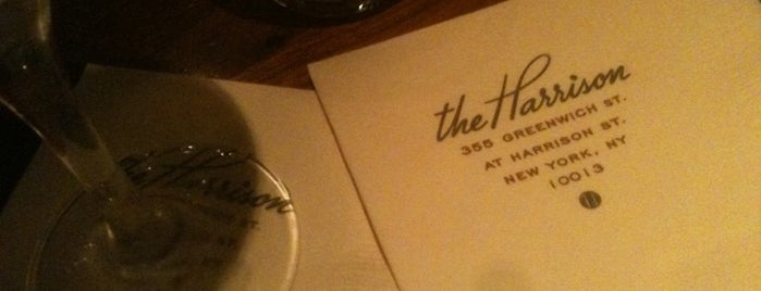 The Harrison is one of NYC Restaurant Week Uptown.