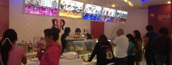 Baskin Robbins is one of Cristina 님이 좋아한 장소.