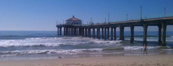 Manhattan Beach Pier is one of Best Places to Check out in United States Pt 6.