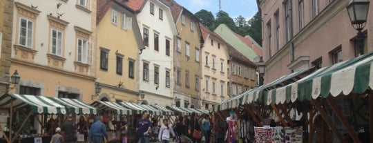 Gornji trg is one of Ljubljana.