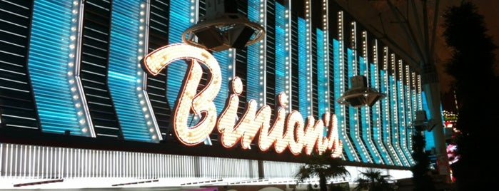 Binion's Gambling Hall is one of Vegas.