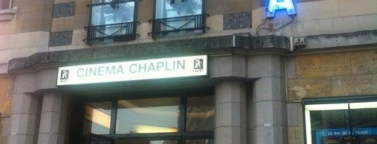 Cinéma Chaplin is one of Lieux qui ont plu à Eda.