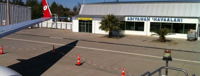 Adıyaman Havalimanı (ADF) is one of Türkiye'deki Havalimanları.
