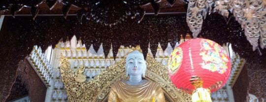 Dhammikarama Burmese Buddhist Temple (缅佛寺) is one of Penang by T+LW.