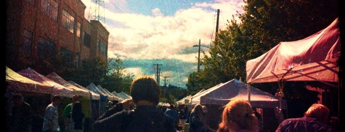Fremont Sunday Market is one of Seattle.