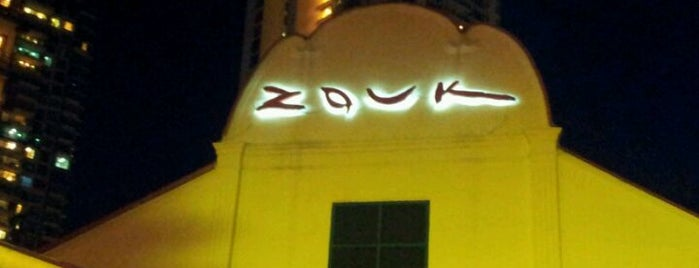 Zouk is one of The Ultimate Chillout & Dining Experience Vol. I.