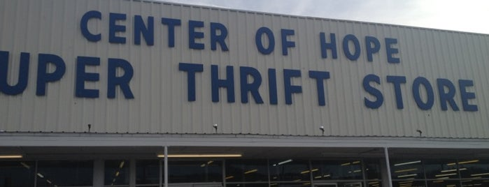 Center Of Hope Super Thrift Store is one of Thrifting Spots in the Southeast.