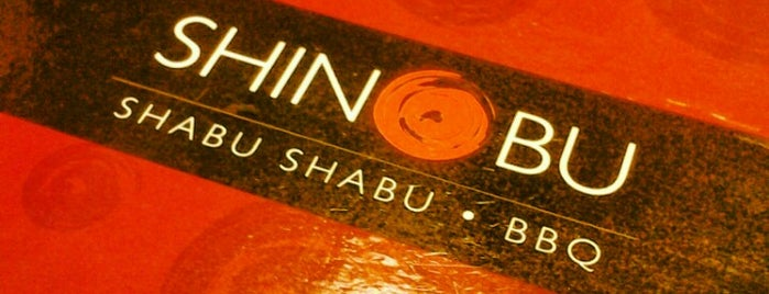 Shinobu Shabu Shabu is one of Orte, die S gefallen.