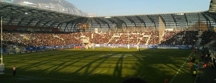 Stade des Alpes is one of Soccer Stadiums.