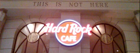 Hard Rock Cafe Cancún is one of Cancún, MEX.