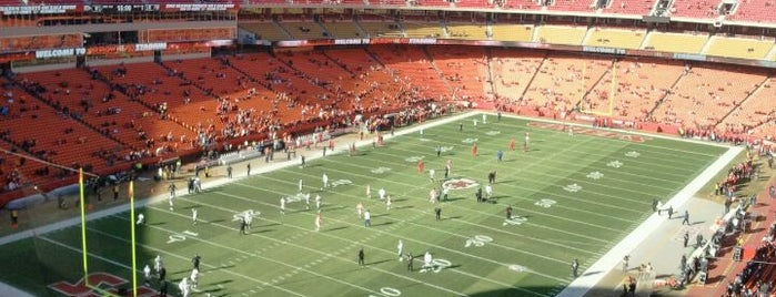 Arrowhead Stadium is one of Great Sport Locations Across United States.