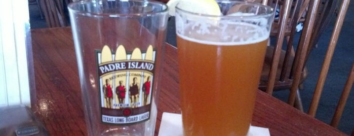 Padre Island Brewing Company is one of South Padre Island.