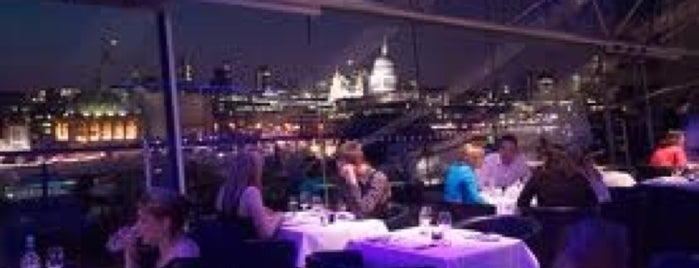 OXO Tower Restaurant, Bar and Brasserie is one of London Munchies.