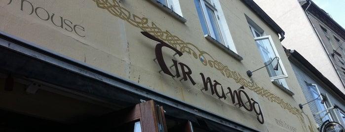 Tir Na Nóg is one of Tips jeg fik anbefalet til Århus.