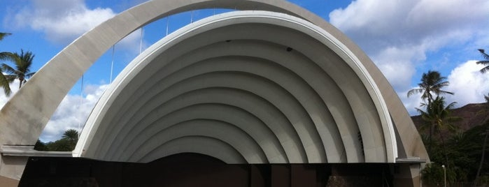 The Waikiki Shell is one of Oahu: The Gathering Place.