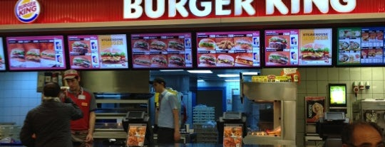 Burger King is one of American Express - Venue list.