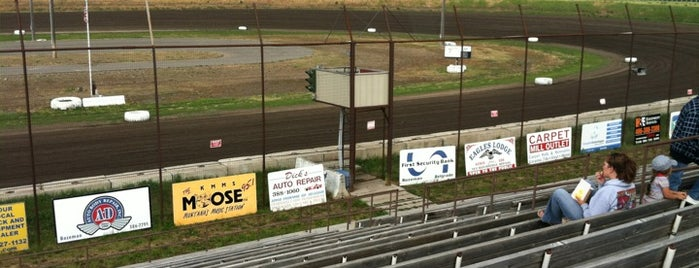 Gallatin Valley Speedway is one of Bucket List for Gearheads.