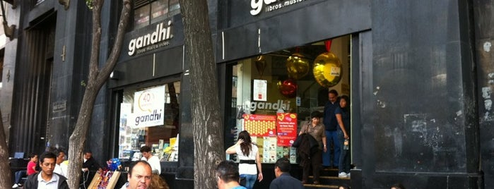 Gandhi is one of Librerías.