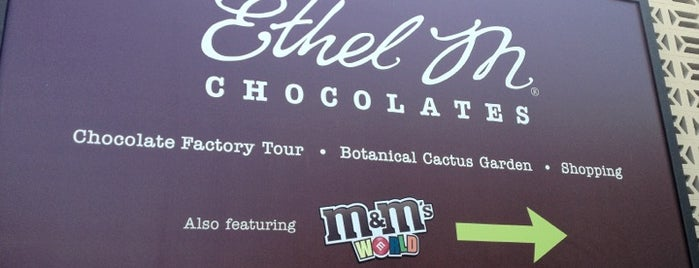 Ethel M Chocolate Factory & Cactus Garden is one of Vegas to do.