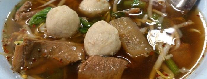 ยีเจ ก๋วยเตี๋ยวหมู-เนื้อตุ๋น is one of Beef Noodle in Bangkok.