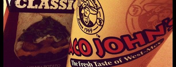 Taco John's is one of Jordan'ın Beğendiği Mekanlar.