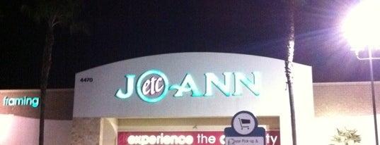 JOANN Fabrics and Crafts is one of Locais curtidos por Karen.