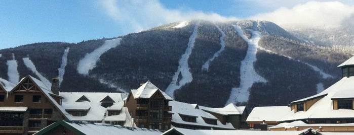 Stowe Mountain Resort is one of Best Ski Areas.