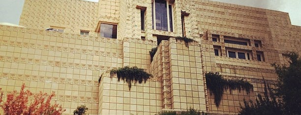 Ennis House is one of Blade Runner Shooting Locations.