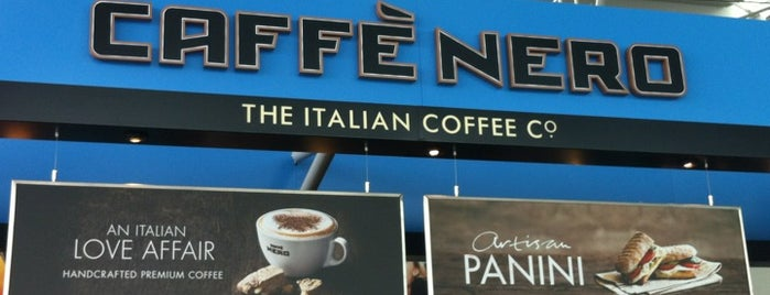 Caffè Nero is one of UK to-do list.