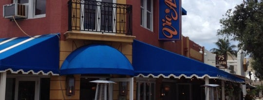 Vic & Angelo's is one of Delray Dining insiders guide.
