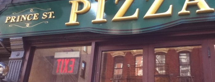 Prince Street Pizza is one of Below 34th St..
