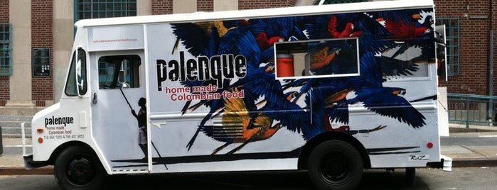 Palenque Colombian Food Truck is one of New York's Best Food Trucks.