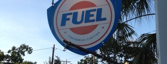 FUEL Charleston is one of Diners, Drive-Ins, and Dives.