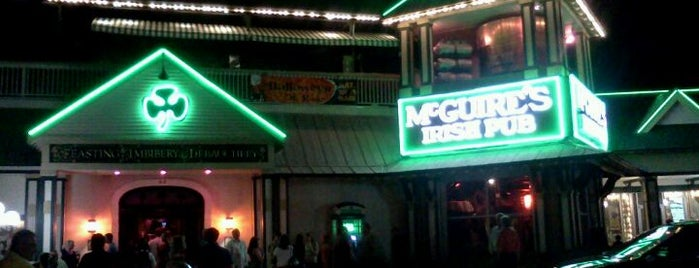 McGuire's Irish Pub of Destin is one of Adventures in Dining: USA!.