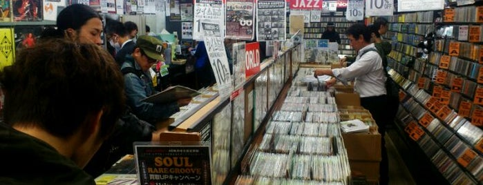 disk union 渋谷JAZZ/RARE GROOVE館 is one of Tokyo Record Shops (Second Hand Vinyl).