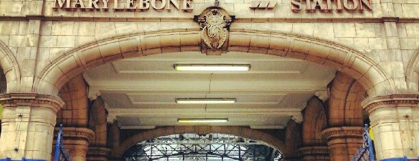 London Marylebone Railway Station (MYB) is one of Tempat yang Disukai Henry.