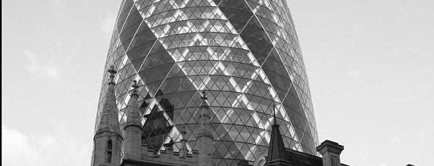 30 St Mary Axe is one of UK.