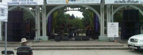 Markham Jazz Festival is one of Posti che sono piaciuti a Mitch.