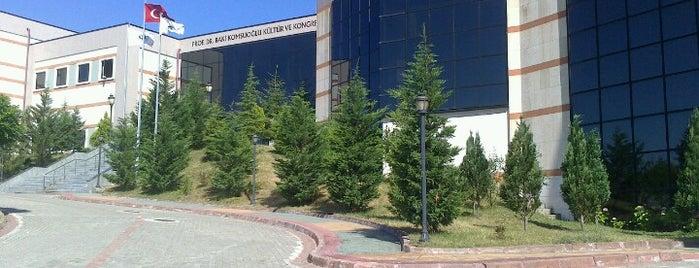 Prof.Dr. Baki Komsuoğlu Kültür ve Kongre Merkezi is one of Kocaeli Üniversitesi KOÜ Mekanları.