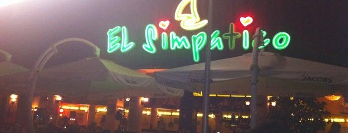 El Simpatico is one of off to Bulgaria.