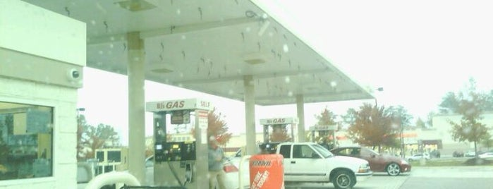 BJ's Gas Station is one of Fuel.