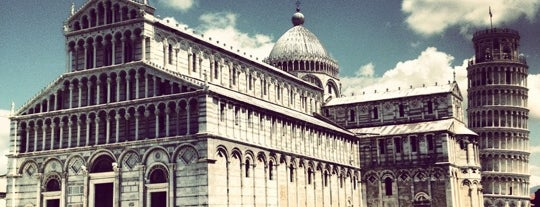 Piazza del Duomo (Piazza dei Miracoli) is one of #4sqCities #Pisa - Tips for travellers!.