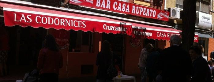 Bar Casa Ruperto is one of Sevilla travel tips.