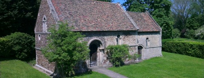 The Leper Chapel of St. Mary Magdalene is one of 111 Cambridge places.
