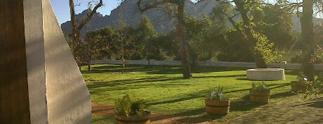 Solms Delta is one of wineries.