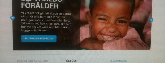 UNICEF Sverige is one of Locais curtidos por Tomas.