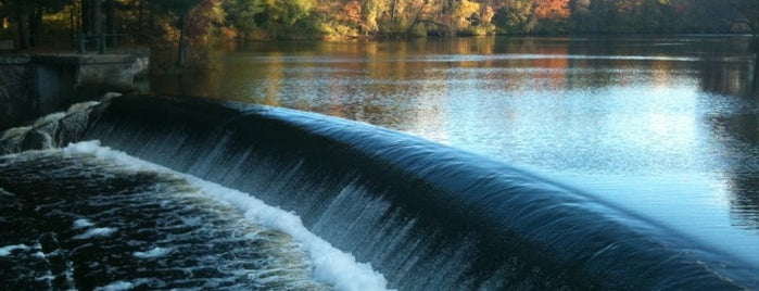 South Natick Dam is one of Jared's Liked Places.