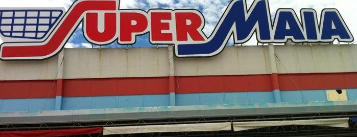 Super Maia Supermercados is one of Rafael'in Beğendiği Mekanlar.