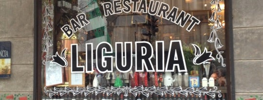 Liguria is one of Love eat!.