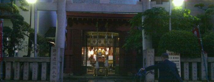 笠間稲荷神社 東京別社 is one of 御朱印頂いた寺社.